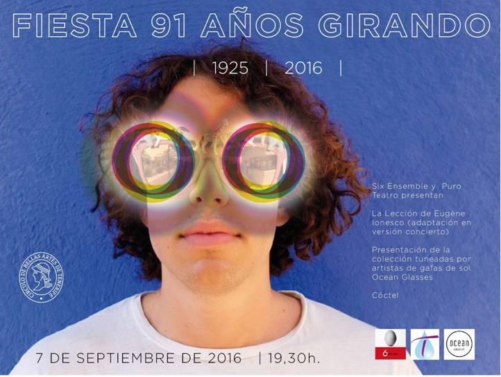 91 Aniversario Círculo Bellas Artes